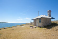 kustferie förlägga i barack gammalt fjärrlitet Royaltyfri Bild