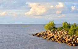 kustfinland golf Arkivfoton