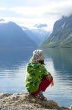 kustfjord Royaltyfria Bilder