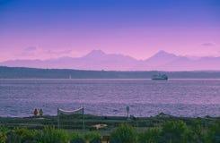 kustflickor två Fotografering för Bildbyråer