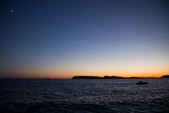 Kustlandskap i Dalmatia, Kroatien Royaltyfri Foto