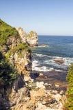 Kustlijn in Asturias royalty-vrije stock afbeeldingen