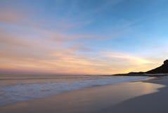 Kustlijn bij de Kaap van Goede Hoop Stock Foto's
