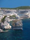 Kustlijn Corsica stock afbeeldingen
