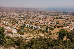 Kustlijn Cyprus Royalty-vrije Stock Foto