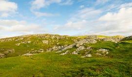 kustlijn de Noord- van Wales Stock Foto
