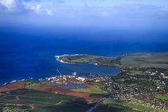 Kustlijn, Kauai royalty-vrije stock afbeeldingen