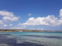 Kustlijn in Malta stock foto's