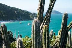 Kustlijn van Arraial do Cabo, Rio de Janeiro, Brazilië royalty-vrije stock afbeeldingen