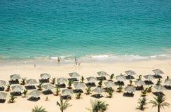 Kustlijn van Emiraten Royalty-vrije Stock Foto's