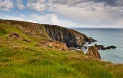 Kustlinje i Irland Fotografering för Bildbyråer