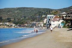 Kustlinje och strand för St Anns i Laguna Beach, Kalifornien Fotografering för Bildbyråer