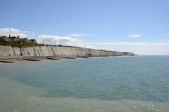 Kustlinje på Brighton sussex england Arkivbild