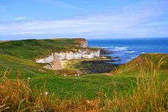kustlinjeflamborough Royaltyfria Foton