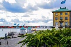 Kustmening, Kopenhagen, Denemarken royalty-vrije stock foto's