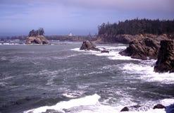 kustoregon stående Arkivbilder