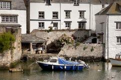 Kustplattelandshuisjes, Cornwall stock foto