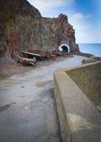 Kustscène op Sark Stock Afbeeldingen