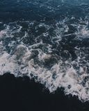 Kustvågor Arkivbild