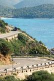 Kustväg Royaltyfria Foton
