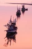 Kustvisserijboot in Thailand Royalty-vrije Stock Afbeelding
