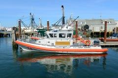 Kustwacht Boat, Narragansett, RI stock foto