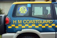 Kustwachtvoertuigen in Bridlington-Oost-Yorkshire Stock Afbeeldingen