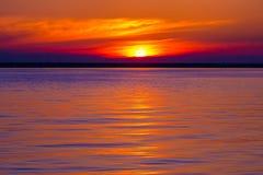 Kustzeegezicht op de Zwarte Zee, Sotchi, Rusland stock foto