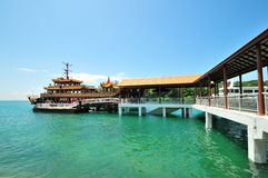 Kusu island - singapore Stock Photography