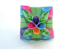 Kusudama de Origami fotografia de stock royalty free