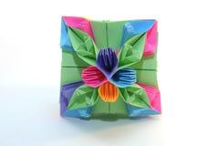 kusudama origami 免版税图库摄影