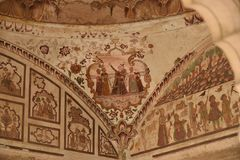 Kusum Sarovar, Матхура, Индия Стоковое Изображение