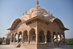 Kusum Sarovar, Матхура, Индия Стоковые Изображения RF