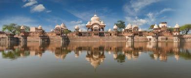 Kusum Sarovar i Mathura Uttar Pradesh, Indien Fotografering för Bildbyråer