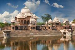 Kusum Sarovar in Mathura Uttar Pradesh, Indien Stockfotos