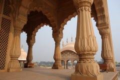 Kusuma Sarovara Detail of Pillars Royalty Free Stock Photo