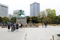 Kusunoki Masashige Statue stockbild