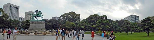 Kusunoki Masashige, Tokyo, Japan lizenzfreie stockfotos