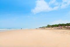 Kuta海滩在巴厘岛,印度尼西亚 库存照片