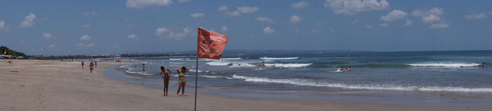kuta пляжа bali Стоковые Фотографии RF
