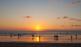 Kuta beach Royalty Free Stock Photography