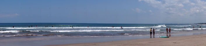 Kuta beach Royalty Free Stock Image