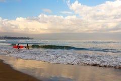 Kuta beach in Bali Indonesia Royalty Free Stock Images