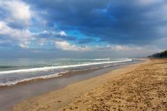 Kuta beach in Bali Indonesia Stock Image