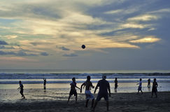 Kuta Beach soccer Royalty Free Stock Image