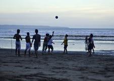 Kuta Beach soccer Stock Photo