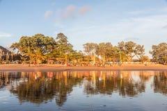Kuta beach in Seminyak Stock Photo