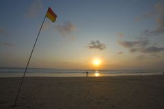 Kuta Beach Royalty Free Stock Photos