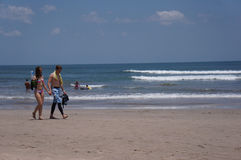 Kuta beach Royalty Free Stock Photography