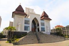 Kuta Catholic Church, Bali, Indonesia stock photo
